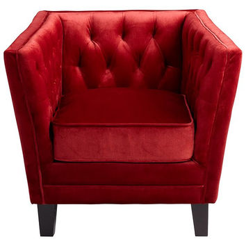 Cyan Design Prince Valiant Chair, Red - 06324