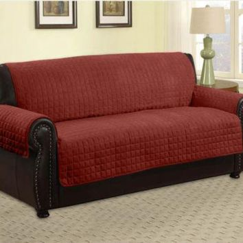 Quilted Microfiber Pet Dog Couch Sofa Furniture Protector -Sofa