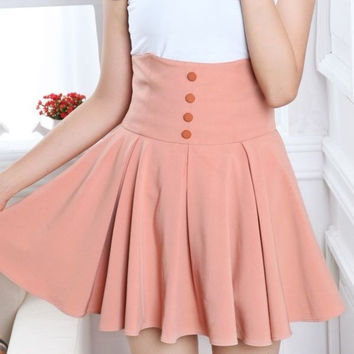 High waist button sexy SKIRT from OSgirl | cute dresses
