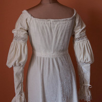 Renaissance milk dress Made to order