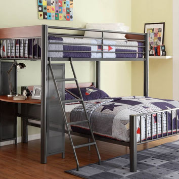 Division Twin/Full Loft Bed B2008TF-1