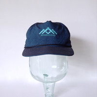 Colorado Golf Hat - Boomerang Links Course Logo - Retro Golfing Cap - Adjustable Adult - Rope Bill - Duckster - Made In USA