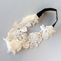 English Lace Headband