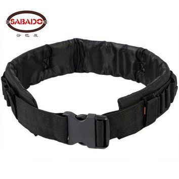 DCCKFS2 SABADO Tactical Nylon Pellet Belt  25 Round Bullet  Combat Belt for 12/20 GA Carrier Waist Belt Shooting Belt