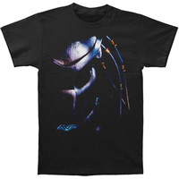 Alien Men's  Predator Head T-shirt Black Rockabilia
