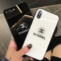 Chanel new phonex phone has a hardened glass case