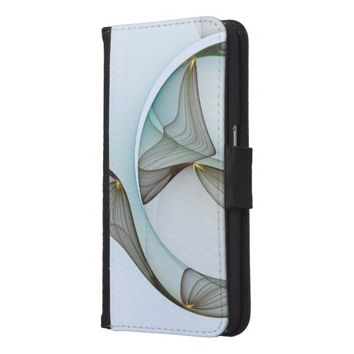 Fractal Abstract Elegance Samsung Galaxy S6 Wallet Case