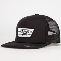 Vans Full Patch Boys Trucker Hat Black One Size For Women 24154610001