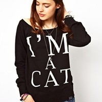 Kill Star I'm A Cat Jumper at asos.com