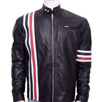 Attractive Peter Fonda Motorcycle Leather Jacket – In Style Jackets