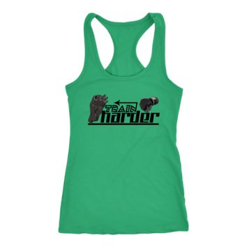 Train Harder Tank Top for Men and Women