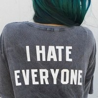 Brandy & Melville Deutschland - Nikola I Hate Everyone Top