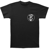 Pierce The Veil Men's  Anchor T-shirt Black