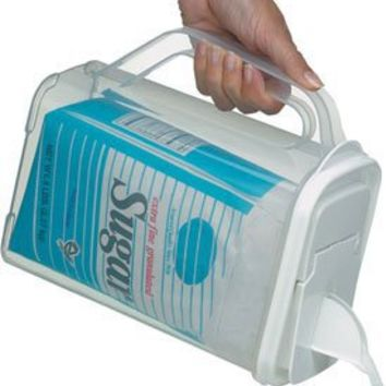 "Bag in Sugar Dispenser (Clear) (10""H x 9""W x 5""D)"