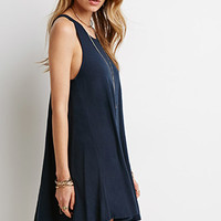 Slub Knit Tank Dress