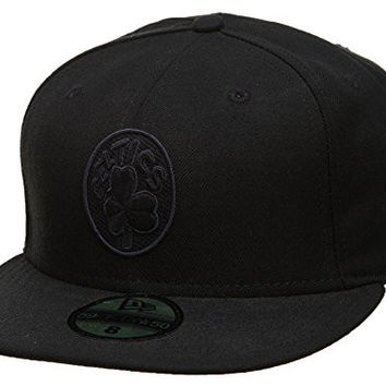New Era Boston Celtics Fitted Hat Mens Style: EW -HAT172-BLACK Size: 8