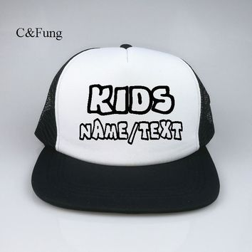 Trendy Winter Jacket Custom KIDS hip hop Hats Customizable snapback adjustable Birthday Parties Special Occasions personalized flat brim hats caps AT_92_12