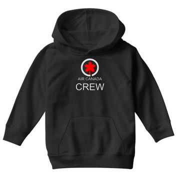 aviation air canada crew Youth Hoodie