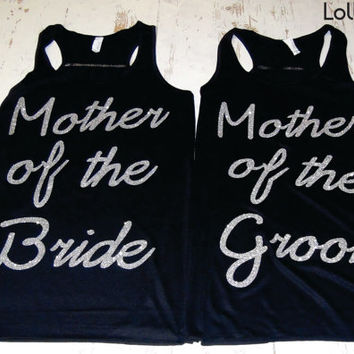 Mother of the Groom and Bride . wedding Gift . Bachelorette party.Glitter .Maid of Honor. Mother of the Bride. Mother of the Groom. Wedding