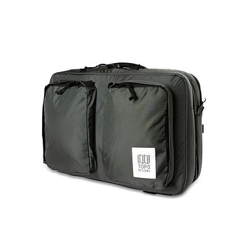 Topo Designs -  Charcoal Unisex Global 3 Day Briefcase