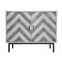 Chevron Console/Buffet