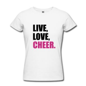 Live, Love, Cheer Women's T-Shirt