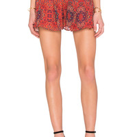 The Fifth Label Age of Aquarius Short in Moroccan Print