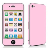 1X Full Body front + back + side Decal Sticker skin cover for iphone 4 S2NL