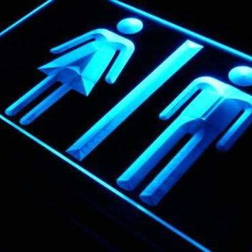 Restrooms Display Neon Sign (LED)