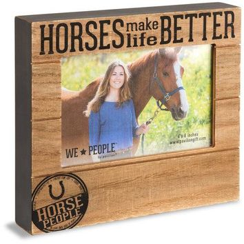 Horse People Picture Photo Frame