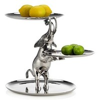 Elephant 3 Tiered Stand | sp16 dining2 | Dining Room | Inspiration | Z Gallerie
