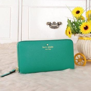 ESBON Kate Spade' Women Purse Fashion Simple Multifunction Zip Long Section Wallet Handbag