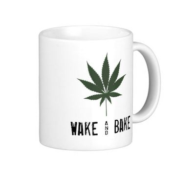 Wake and Bake Mug Cannabis & Coffee Mug