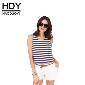 Fashion Tank Tops Women Casual Striped Straps Cross Back Bow Tops Off-shoulder Backless Female Summer Tank Tee