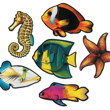 Fish Cutout Assorted