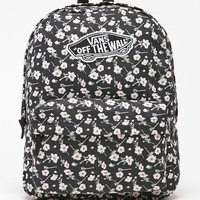 Vans Realm Graphite School Backpack - Womens Backpack - Graphite - NOSZ