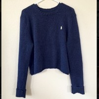 Cropped Ralph Lauren Polo Sweater