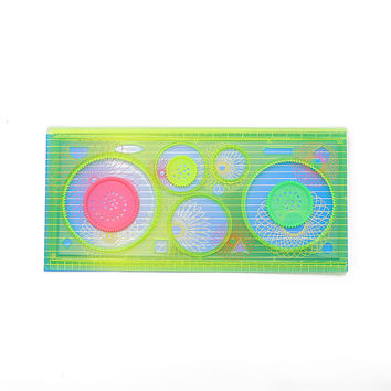 Spirograph Geometric Ruler Drafting Tools Stationery For Students Drawing Toys Set Learning Art Sets Mandalas