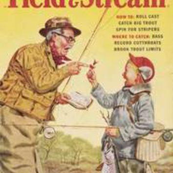 FIELD & STREAM: April 1956