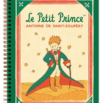 Twinring Line Note Large - Little Prince