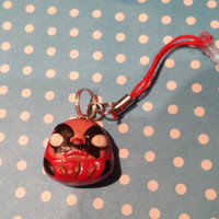 Cute kawaii Daruma dust charm