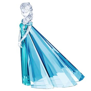 Swarovski Color Crystal Disney Figurine ELSA Limited Edition 2016 #5135878