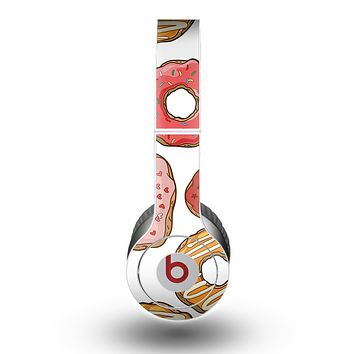 The Vectored Love Treats Skin for the Beats by Dre Original Solo-Solo HD Headphones