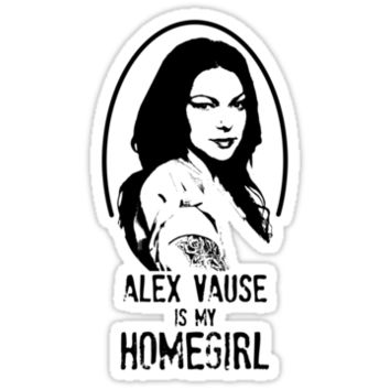 Alex Vause is my Homegirl!