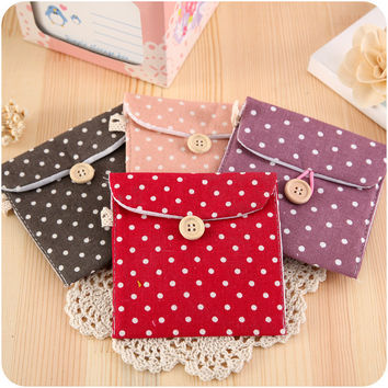 Hygiene Cotton Storage Cotton Linen Korean Bags = 4877849348