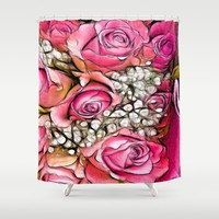 :: Hello, My Love :: Shower Curtain by :: GaleStorm Artworks ::