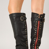 Pre-Order Black Outlaw Boots
