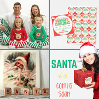 Santa is coming... Only 2 months. Wear his sweet pajama set, decorate your…