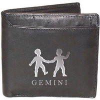 Gemini Sign Leather Wallets