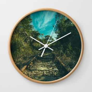Abandoned Wall Clock by Mixed Imagery
